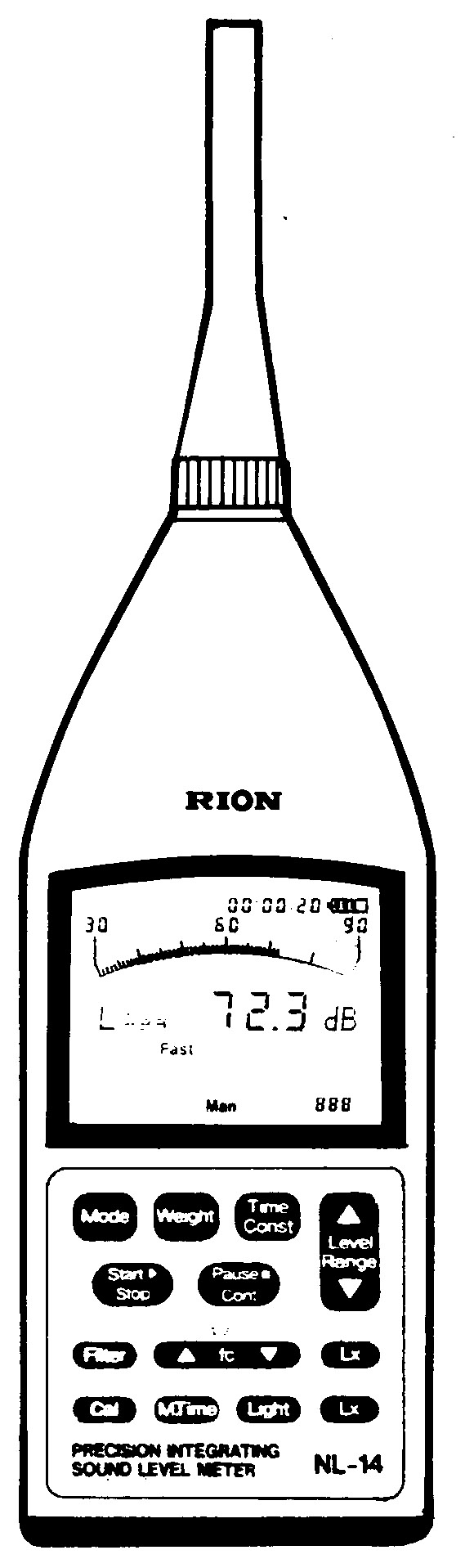 NL-14 積分型精密騒音計